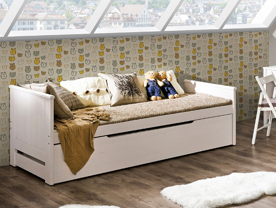 łóżko Podwójne Tomi Marmex