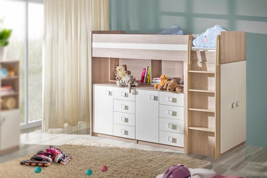 łóżko Piętrowe Uno 2 Marmex